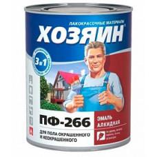 Эмаль ПФ-266 для пола Хозяин