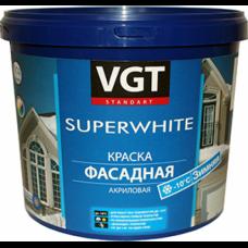 Фасадная акриловая краска ВД-АК-1180 Зимняя супербелая