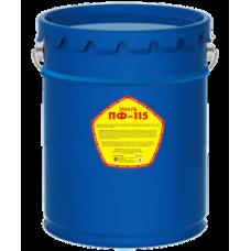 Эмаль ПФ-115 коричневая  СТАНДАРТ 0,8 кг